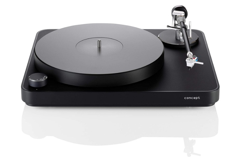 Clearaudio Concept Turntable with Concept MM V2 Cartridge (Black)