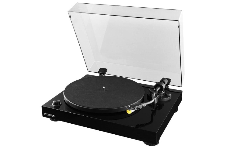 Fluance RT80 Classic High Fidelity Vinyl Turntable Record Player with Audio Technica AT91 Cartridge
