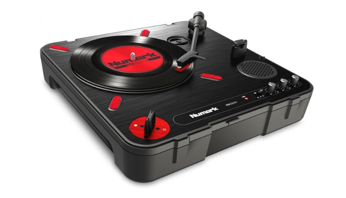 Numark PT01 Scratch DJ Turntable for Portablists With User Replaceable Scratch Switch