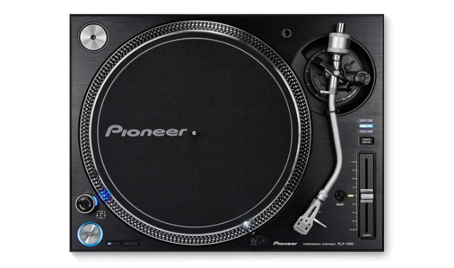 Pioneer DJ Direct Drive DJ Turntable, Black