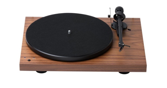 Pro-Ject Debut Recordmaster Walnut Turntable with USB and Phono Preamp